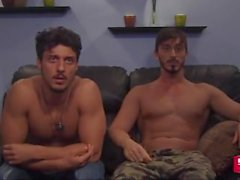 2 straight hot cousins put on cam chat show