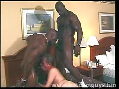 White boy Fucked by Black Bulls