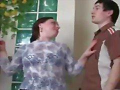 big tits blowjob brünett
