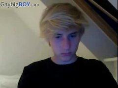 Danish 18yo Teen Boy, Masturbation With Big Cock And No Cum