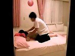 asiático dedilhado massagem