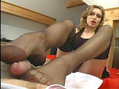 fetichismo del pie lencería