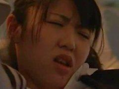 paar teenager asiatisch öffentlichkeit