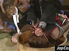 aziatisch bdsm groepsseks japanse slaaf