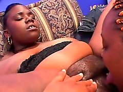 grandi tette nero ed ebano grasso