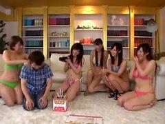amador asiático sexo em grupo japonês