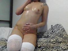 morena masturbação meias adolescente