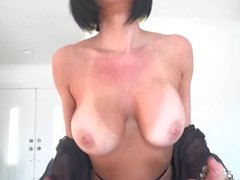 Veronica Avluv POV suck and fuck on a big cock for a facial