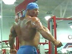 bodybuilder solo male