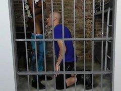 White prisoner rides bbc