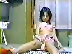 Asian Girl Caught Masturbating By A Spy Cam