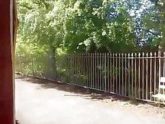 voyeur británico al aire libre