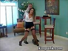 amateur bdsm slavernij gebonden brunette