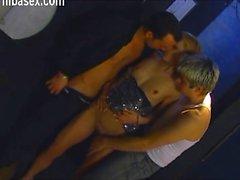 loira boquete dupla penetração