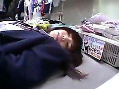 asiático bebé mamada peludo japonés