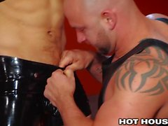 HotHouse Sebastian Kross In Gorgeous Leather Boxers