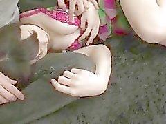 aasialainen aasian tyttöjen eksoottinen naida karvainen