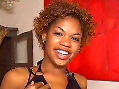 biseksuelen zwart en ebony trio