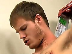 Gay twink in thong fucked by daddy Tyler is shortly arching