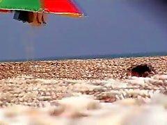 plage italien voyeur