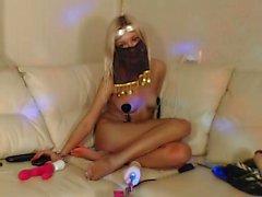 dilettante biondo assolo webcam