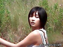 азиатский брюнетка межрасовый модель