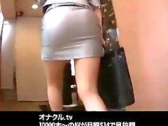 giapponese ufficio asians al lavoro pompino