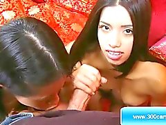 Asian and Black Girls Sex Shows