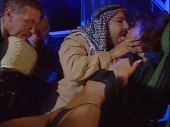 tourist babe groped