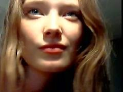 Pretty girl swallows it all