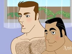 monstro dos desenhos animados talk dobrado sobre ass foda gay