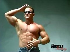 stück muskel muskel - mann perfektes körper
