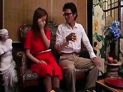 asiático dedilhado lamber calcinhas