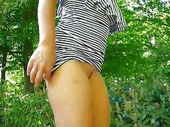 amateur desnudez pública parpadea