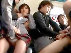 asiatique collège doigté sexe en groupe