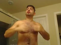 Showering Butt Naked Getting Ready For A Booty Call Sexy Handsome Latino