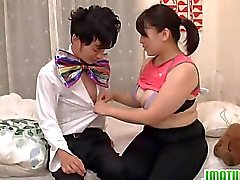casal maduro asiático japonês