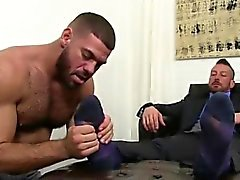 Boy gay sex foot The idolizing commences with a foot massage