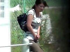 asiático fetiche hd ao ar livre