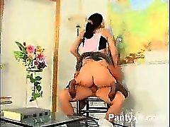Rhythmic Pantyhose Girl Wild XXX