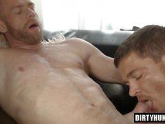 Muscle gay bareback and cumshot