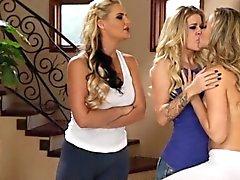 блондинка аппликатура hd лесбиянка