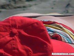 hotbikiniteens большой сиськи пляж шпион топлесс мамаша бритая любительский