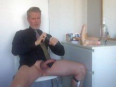Full length cam show video w Jeff Stryker dildo
