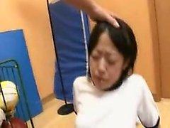 asiatisk bdsm babe fingersättning