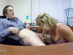 big boobs blondine blowjob behaart