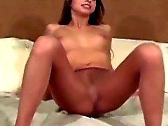Hot lingerie babe great striptease