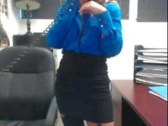 Busty Office MILF 2