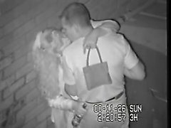 blasted on CCTV