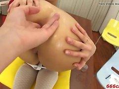 anal grandes galos loira adolescente